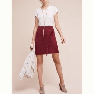 Brand new fringed skirt